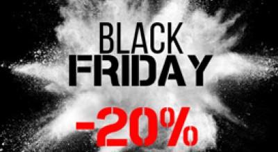 Чёрная пятница -20% только с 19 по 23 ноября!