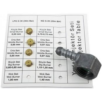 Газовая панель MAUNFELD EGHG 64 43CBg/G