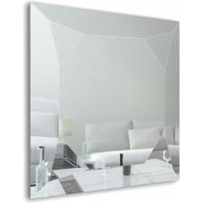 Зеркало Dubiel Vitrum DIAMONTE SILVER 70x70
