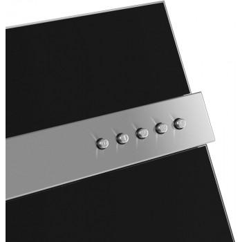 Наклонная вытяжка MAUNFELD BRIDGE LINE 60 черный/полоска