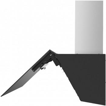 Наклонная вытяжка MAUNFELD TOPAZ 60 черное стекло