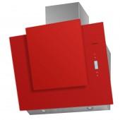 Наклонная вытяжка MAUNFELD ENVER 800 нержавейка, красное стекло