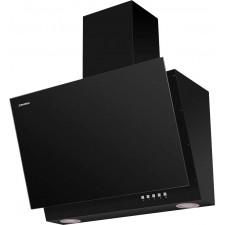 Наклонная вытяжка MAUNFELD ARAKS SBL 500 чёрная, чёрное стекло