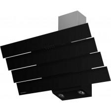 Наклонная вытяжка MAUNFELD CASCADA QUART 90 чёрная