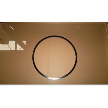 Островная вытяжка MAUNFELD BERTA Plus 90 нержавейка, прозрачное стекло