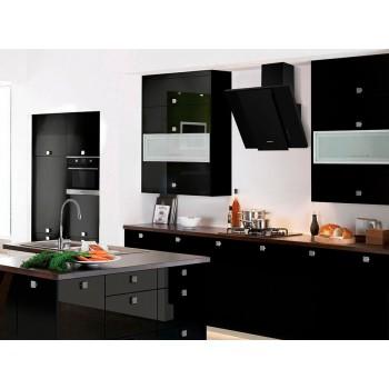 Наклонная вытяжка MAUNFELD IRWELL G 500 чёрная, чёрное стекло