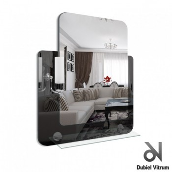 Зеркало Dubiel Vitrum LUCAS 53x68