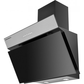 Наклонная вытяжка MAUNFELD MZR 600 чёрная, нержавейка