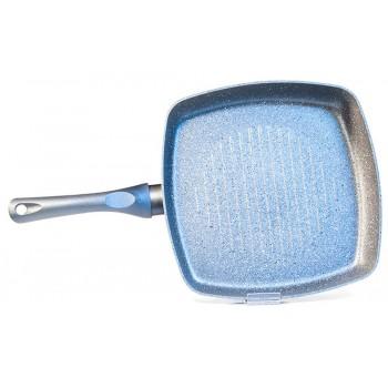 Квадратная сковорода-гриль MOON STONE 28 см
