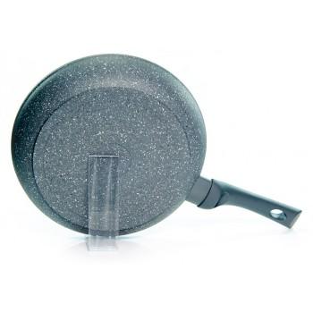 Сковорода FISSMAN ROCK STONE 24 см (со съёмной ручкой)