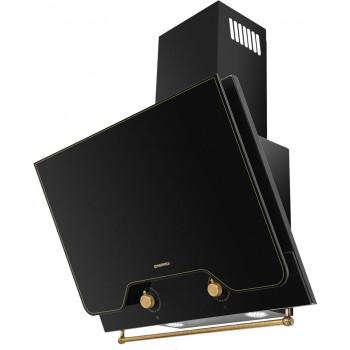 Наклонная вытяжка MAUNFELD Retro Quadr 60 черный