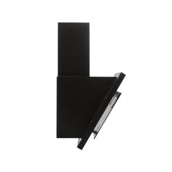 Наклонная вытяжка MAUNFELD TOWER G 900 чёрная + полоски сатин