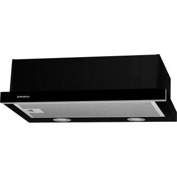 Встраиваемая вытяжка MAUNFELD VS LIGHT 50 см Black GLASS B, Галоген (цвет чер.+черное стекло)