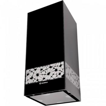 Островная вытяжка MAUNFELD WEAR 400 чёрное стекло